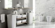 Qi_bathroom / The impeccable Italian style of Scavolini joins forces with the light and poetic design of Nendo - the world-famous Japanese studio run by Oki Sato - and comes up with the Qi bathroom furniture collection.