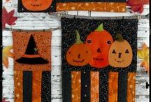Hudson's Holidays Designs - Halloween / This is Shirley Hudson of Hudson's Holidays .. patterns, designs, artwork and more.  There are craft patterns, embroidery, wool projects, quilts, pincushions, sewing, punch needle, signs, tags, flash cards, dolls, painted projects, and more.
