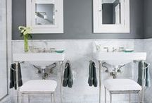 Small Baths / Guest and Small Bath Ideas and Inspiration / by Perfectly Imperfect (Shaunna West)