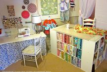 Design Room/Work Spaces / Ideas and dreams for a design room / by Holly Lefevre (504 Main)