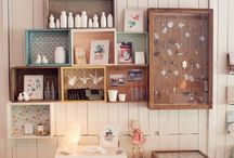 Home: Storage and Organization / Ways to store and organize whatever...hopefully it is pretty. / by Holly Lefevre (504 Main)