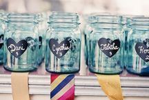 Jar Fascination / I am a jar hoarder -  I love blue ones, old ones and new ones. I also love to repurpose them. / by Holly Lefevre (504 Main)
