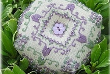 Anita's biscornu Stitching