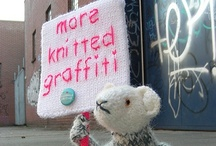 Yarn Bombing / Because I think it's ace!