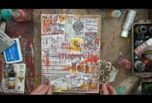 Art : Journal Doodle Videos / Artful videos that show journals, doodles, tangles, and more...