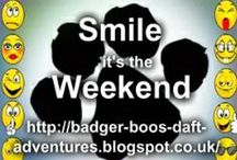 Smile it's the Weekend / A link up of anything to make you Smile on a Friday and over the weekend :o)
