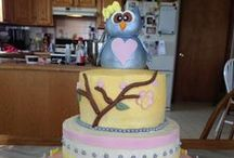 Cake Work / Cakes that I've made and decorated from scratch.  / by Brittany Adams