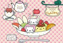 Cute Desktop Wallpapers / Lots of the best kawaii desktop backgrounds from around the web including Hello Kitty, Rilakkuma and more!
