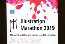 Illustration Marathon 2015 / Illustration Marathon è una maratona di illustrazione e fumetto di 8 ore e consiste nella creazione di una storia di 8 pagine a fumetto o nella realizzazione di 8 illustrazioni.