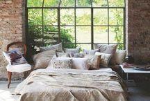 bedroom love / modern rustic bedroom spaces  / by Caitlin Chotrani