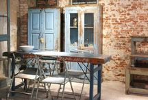 kitchen and dining spaces love / modern rustic kitchen and dining spaces / by Caitlin Chotrani