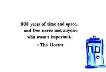 Doctor Who / I'm a Geek, I guess.