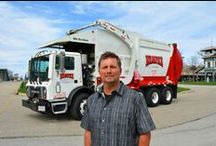 Rollin' with Rumpke / Trash trucks, recycling rigs and other big equipment from the Rumpke world of waste and recycling.