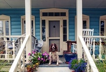 Houses and Homes with Southern Style / Houses, homes and decorations that exemplify southern charm.