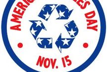 America Recycles Day / America Recycles Day is an initiative by Keep America Beautiful to celebrate and raise awareness about recycling in the United States. Rumpke works to keep streets clean and green every day of the year, especially on November 15 for #AmericaRecyclesDay. / by Rumpke Waste & Recycling