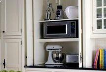 Home - Kitchen Storage Ideas / by Karen Wong