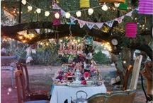 Garden Party / Wedding showers!! California for Jenny & Florida for Melissa :-)