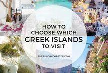 ♡ Travel // Greece. / Greec Islands Cyclades
