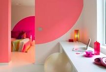 Interiors & Home Decor / Colorful and creative interior design and home decor. Both eclectic and modern but always with a pop of color.