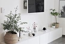 ♡ Interior // Living Area.