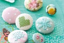 Buttons, Buttons, Buttons! / Welcome!... Now aren't you cute as a button?  / by Olivia | Hopeful Honey