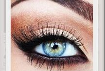 Amazing Lashes / Latisse and Viviscal are amazing at enhancing your natural eye-lashes, but the effects of makeup know no bounds.  www.AboutFaceSkinCare.com