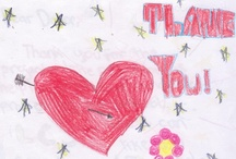 Gracias, Merci, Thank you / Thank you notes from DonorsChoose.org teachers and students.  / by DonorsChoose.org
