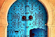 doorways / This board simply allows me to feed my obsession with doorways -- you never know what's hiding behind them / by Judith Coan-Stevens