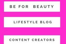 Be For Beauty: Blogger and Content Creators / Hello everyone! I am a beauty blogger, writer and editor based out of New Delhi, India. I am obsessed with reviewing beauty products, DIY fixes, style trends and natural DIY fixes. You can find them with a bit of dark humor and vanity on  beforbeauty.com