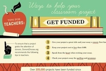 Infographics  / Fast facts about DonorsChoose.org (and others) thanks to Column Five Infographics!  / by DonorsChoose.org