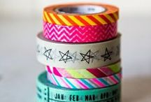 Ruban washi / Washi tape / by Magazine Châtelaine