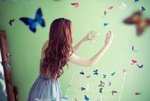 Butterflies / Pretty butterflies and butterfly art