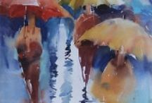 Rain / Rain, umbrellas, and other such things.