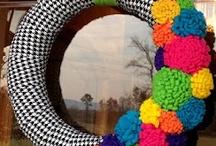 Wreaths & Topiary / by Stephanie Sheridan