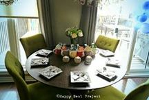 ~Table Flare~ / Stuff & Ideas to make a table pretty, welcoming or special...