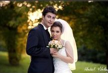 Wedding Photo Sessions / Photo session pictures. Photographers have control of subject, of light, of sharp/unsharp relation. They communicate with Brides and Grooms for this photographs.