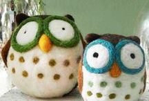 Wool Felt sewing projects / projects using felted wool material / by Cathe McRae