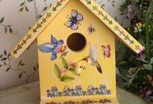Birdhouses / by Lois Pontillo