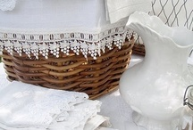 Linens, blankets and pillows / by Cathe McRae
