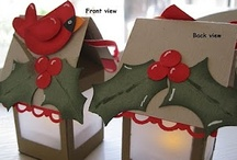 Stampin Up Christmas Crafts / by Stephanie Sheridan