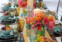 Terrific Table Settings / by Kim Smith Wheeler