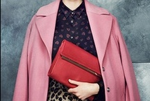W O R K W E A R / my favourite workwear pieces - structured and tailored silhouettes, oversized leather bags and statement jewellery with a pop of bright lipstick  / by Sharon Murray