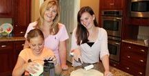 Kids Cooking / Kids love to cook & can learn so much from the process.