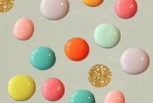 S U M M E R / my summer palette is a mix of soft pastels, with bright pops of colour, teamed with a stand-out lipstick, gold jewellery and statement sunglasses / by Sharon Murray