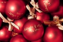 Christmas Wedding Theme / Ideas and Inspiration for a Christmas theme wedding...think lots of red, green, gold and silver!