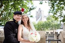 Real Wedding-Helena & John / Wonderful Wedding Ceremony at the Chapel in the Tower of London followed by reception at Lamb Tavern and then dinner and dancing at Prism in the City! Many thanks to the lovely Cristina Rossi Photography! (Royal blue & coral theme)