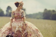 Frock yeah / Romantic gowns and dresses. / by Sherri DuPree Bemis