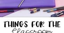 Things for the Classroom / Anchor charts, classroom decor, posters for the classroom and more!