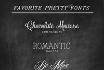 typeface / by Kiersten Mitchell