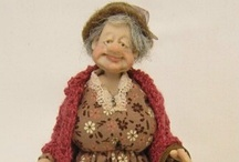 Art Dolls / OOAK mixed media dolls.  If doll is 100% cloth or an all clay figure, it may be on another board...